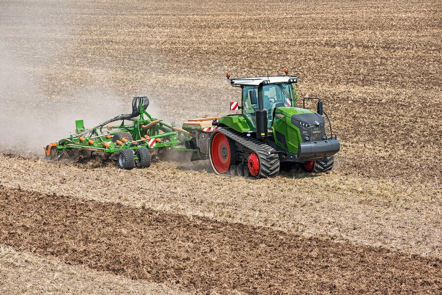 Traktoren Prospekt 09//2017 FENDT 186 FENDT 1100 VARIO MT Raupentraktoren