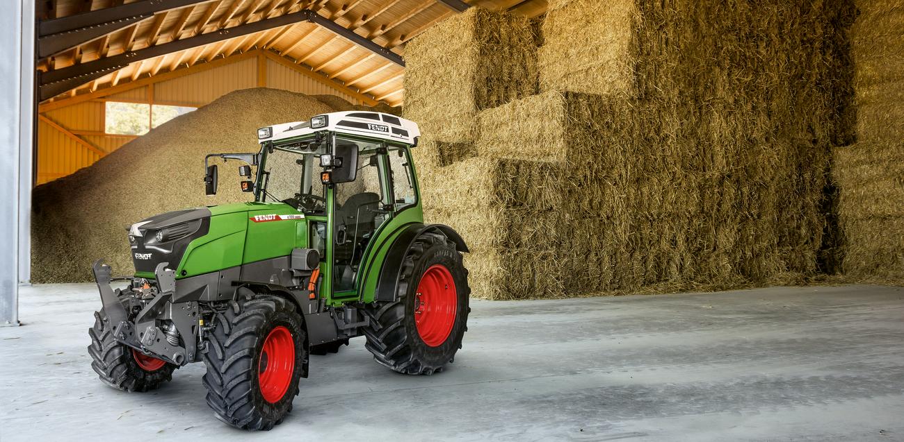 FENDT 211 FENDT e100 VARIO Tractor Prospekt in englisch