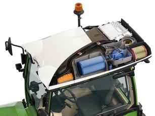 Kat. 4 Filterschutz dargestellt mit einem Dachquerschnitt