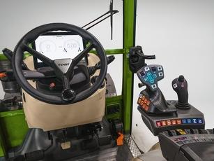 """Kabinen Innenansicht, 10"""" Cockpit, 3L-Joystick"""