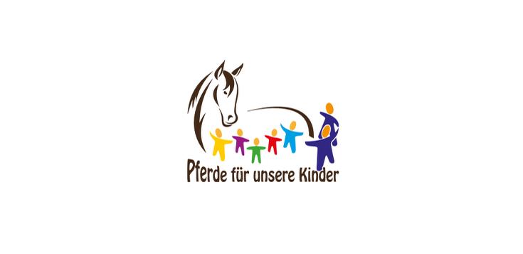 Logo des Vereins Pferde für unsere Kinder