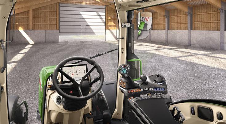 Variante de configuración Power Setting 2 vista desde el asiento del conductor.