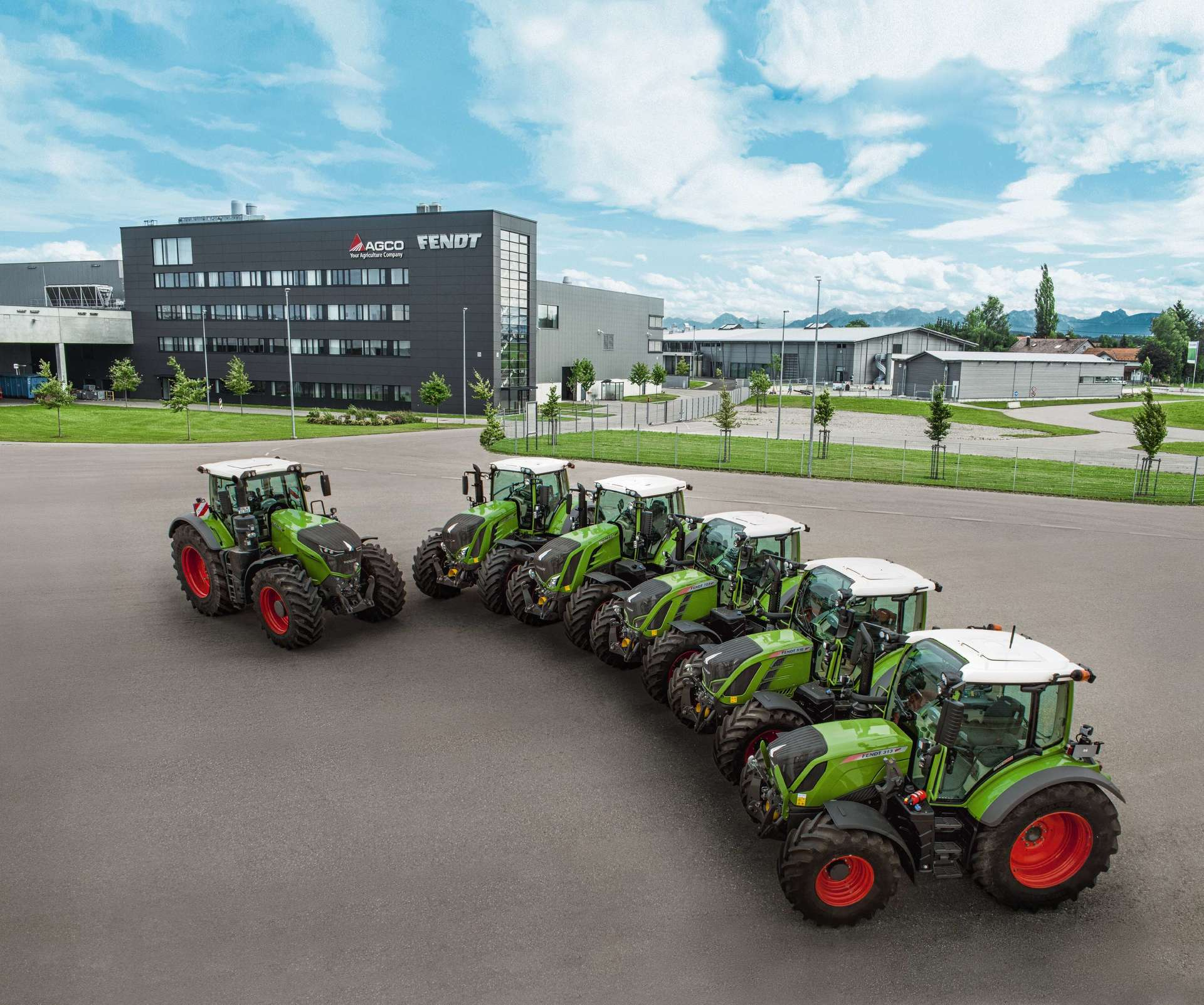 AGCO/Fendt continues to grow - Fendt