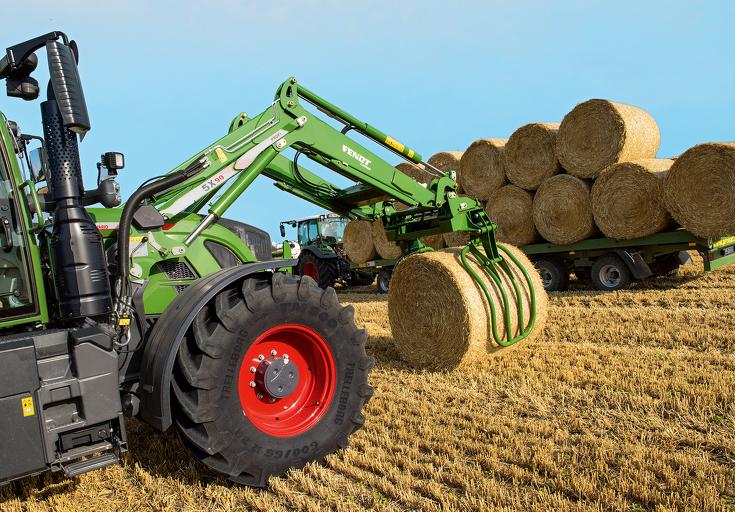 Fendt 718 Vario tractor stickers decals